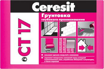Ceresit CT17 отлично ложится на шпаклёвку.