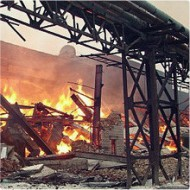 Ограничение распространения пожаров с помощью огнезащитных красок.