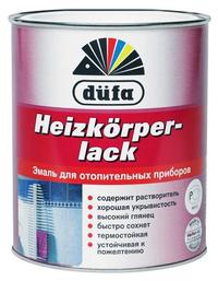 Термостойкая алкидная эмаль Dufa Heizkorperlack.