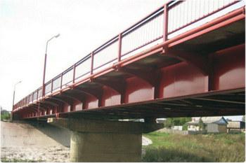 Отлично покрывает опоры мостов.