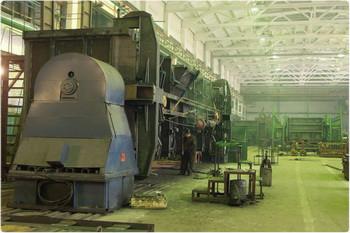 Окраска производственного оборудования.