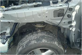 Защита кузова автомобиля с помощью цинка.